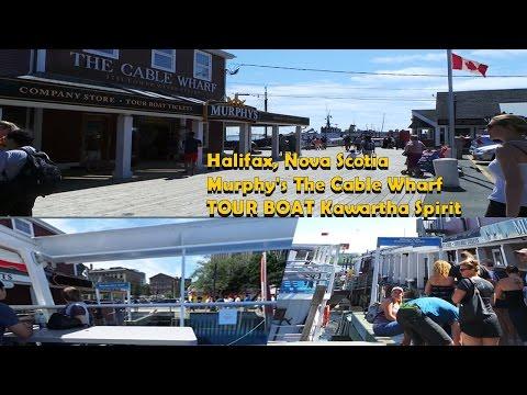 Halifax, Nova Scotia Murphy's The Cable Wharf TOUR BOAT Kawartha Spirit
