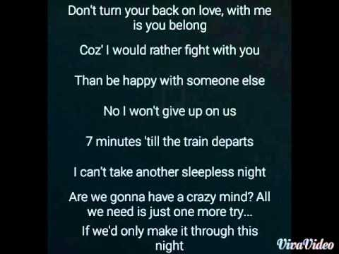 Darren Espanto 7 minutes Lyrics Video