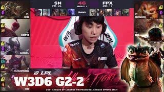 FPX vs SN - Game 2   Week 3 Day 5 LPL Spring 2021   FunPlus Phoenix vs Suning G2