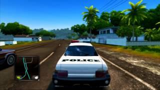 TDU 2 PS3 - Hawaii Police Traffic (TRAFFIC CAR)