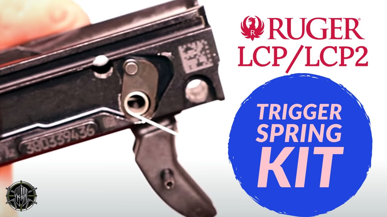 Ruger LCP 2 Trigger Spring Kit - Ruger LCP 2 Accessories - Ruger LCP 2  Upgrades M*CARBO