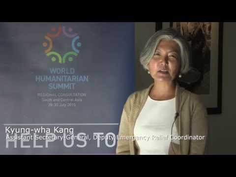 [WHS SCA Message] Assistant Secretary-General, Deputy Emergency Relief Coordinator: Kyung-wha Kang