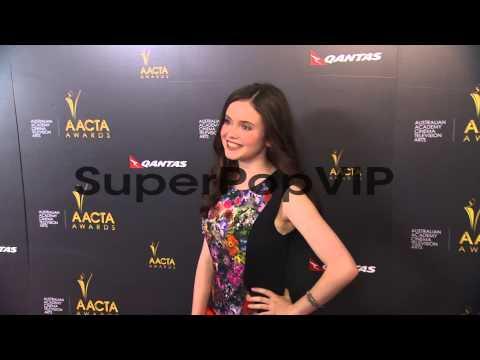 Lara Robinson at 2nd Annual AACTA International Awards on...