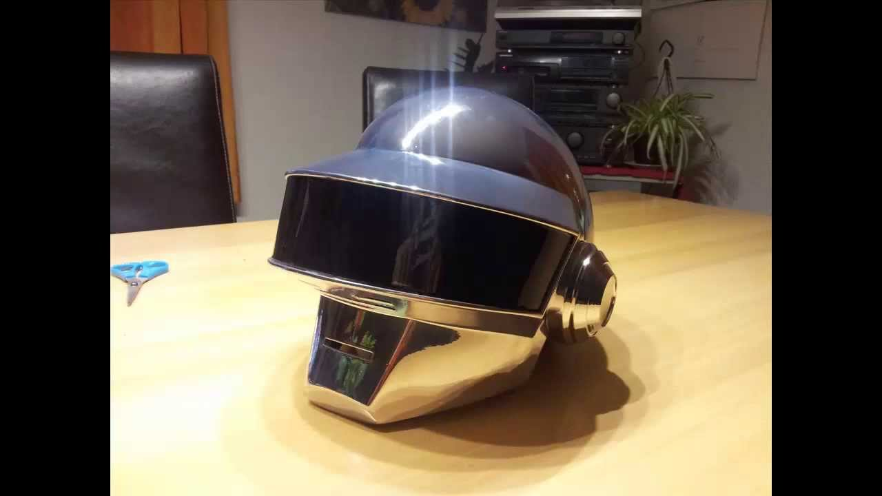 Daft Punk Thomas Bangalter Helmet Firewire Cast