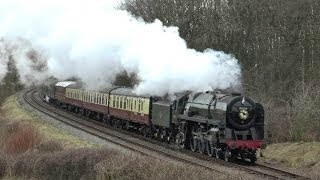 Great Central Railway - Winter Steam Gala 2014