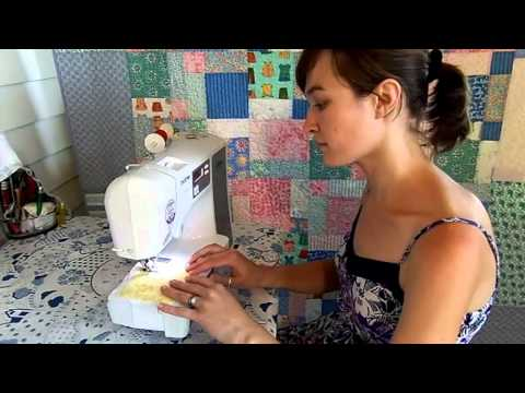 How To Use Your Sewing Machine: Your First Stitches -- Lesson 4