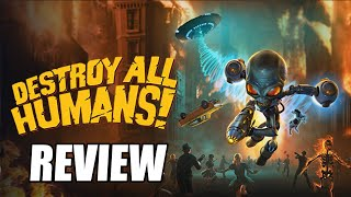 Destroy All Humans! Remake Review - The Final Verdict (Video Game Video Review)