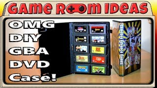 DIY Game Boy Advance game cases - Game Room Ideas