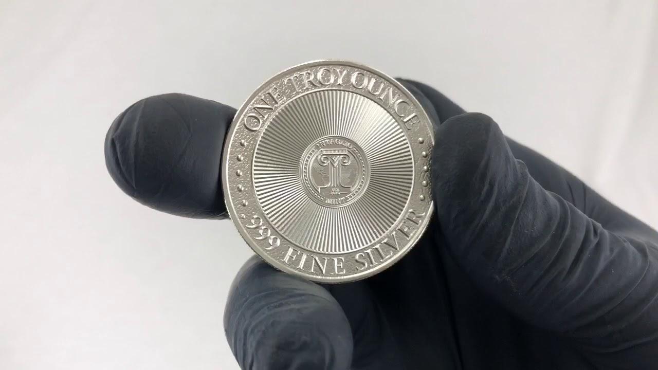 1 oz Molon Labe Silver Round (New)