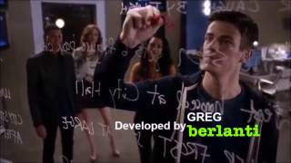 The Flash Credits Psych Style