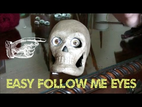 www monstertutorials com how to make easy follow me eyes in less