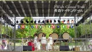 Wish Comes True (2015青森ねぶた祭り前夜祭) 青森ナイチンゲール.