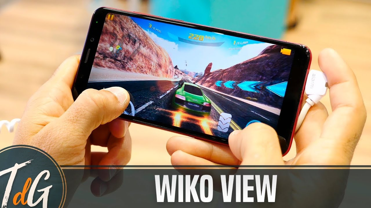 Wiko View, BARATO y sin MARCOS!! #IFA17 - YouTube