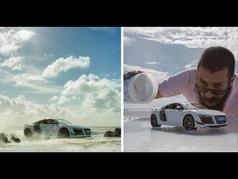 Photographer Did A Genius 160000 Audi Shoot With Just A 40 Toy