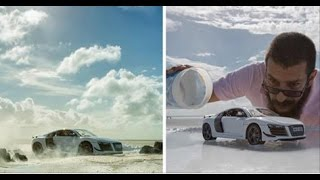 Photographer Did A Genius $160,000 Audi Shoot With Just A $40 Toy Audi Car