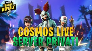 SERVER PRIVATI ! GLI ULTIMI SERVER AFFRETTATEVI ! *2 🔥 LIVE FORTNITE ITA