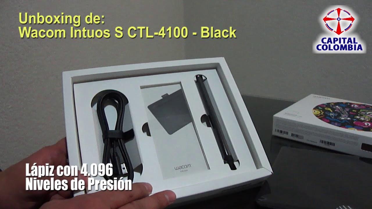 Unboxing de Tableta Wacom Intuos S Black - CTL-4100