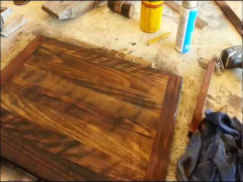 Wood Finishing - Make Old Wood Look Older!
