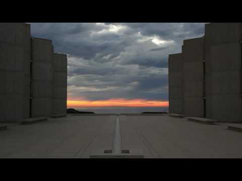 Amazing Sunset photos in Salk Institute, San Deigo