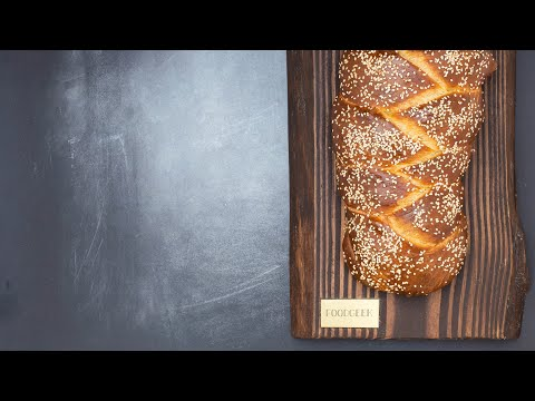 Sourdough CHALLAH Bread | RECIPE for Challah | Challah bread BRAIDING