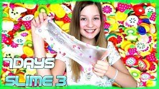 #3 7DAYS SLIME DIY - Slime z owocami ❤ CookieMint
