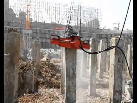 concrete breaking machine