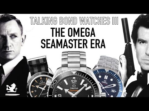Talking Bond Watches Live III - The Brosnan & Craig Era - Omega Seamaster 300m To Planet Ocean