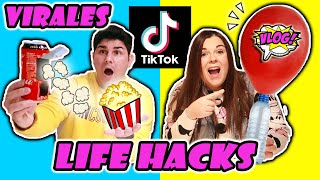 PROBAMOS LIFE HACKS de TikTok VIRALES !!