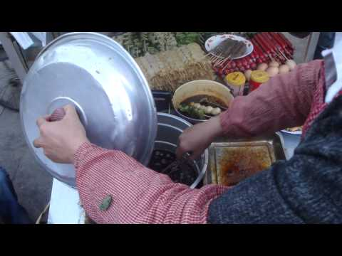 Street Food in Lhasa city, Tibet China