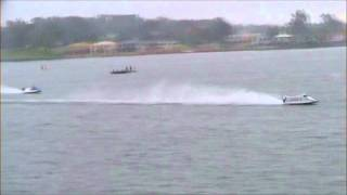 Formula 1 boats from the 2006 E.C Griifth Cup