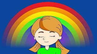 Rainbow Meditation For Kids and Adults/ Chakra meditation