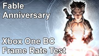 Fable Anniversary Xbox One vs Xbox 360 Backwards Compatibility Frame Rate Test