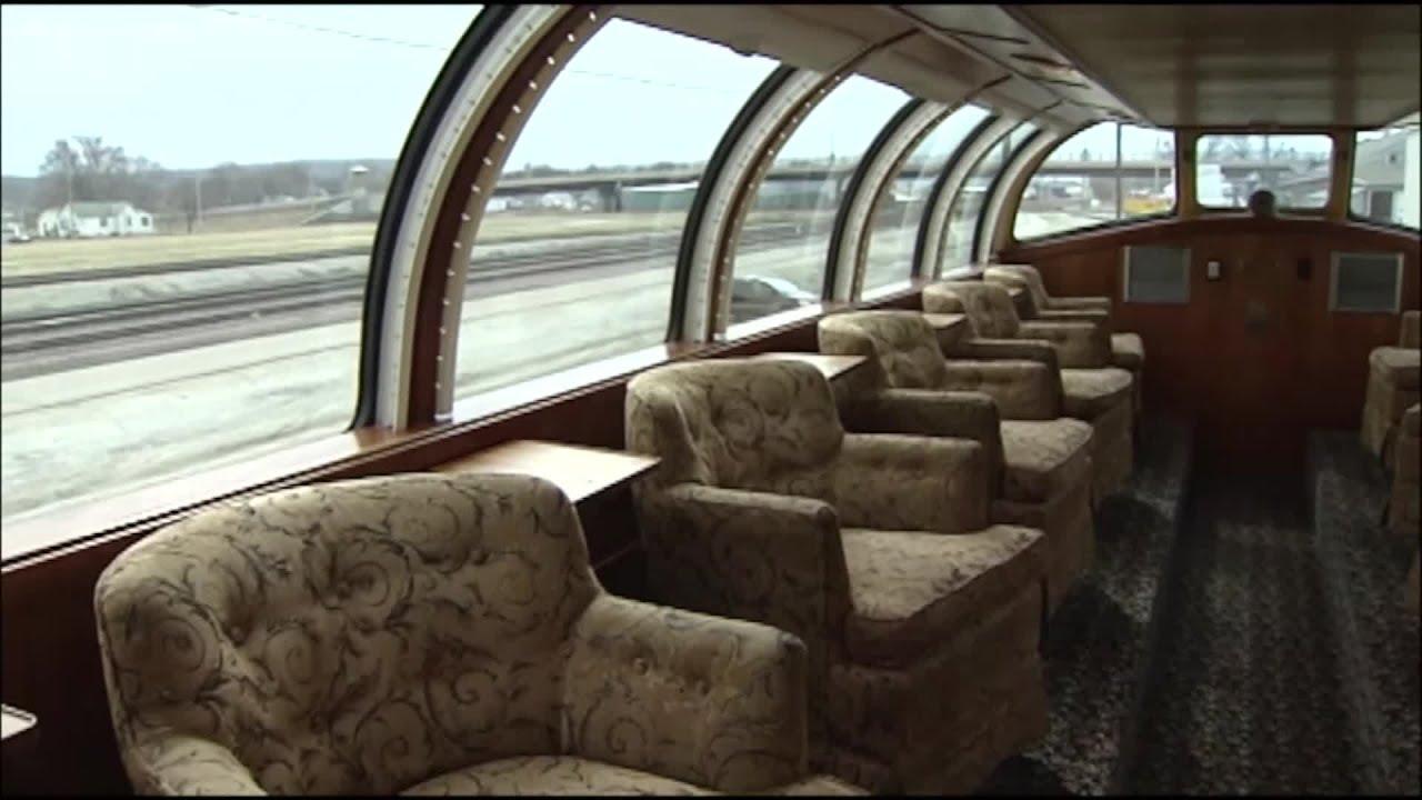 Inside The Train That Will Take George H W Bush Home Youtube
