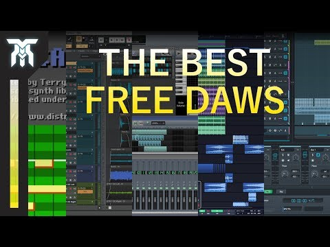 Best Free DAWs for Music & Sound Design (Best Available in 2018!)