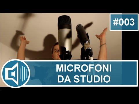 Microfoni da studio: come sceglierli e come utilizzarli al meglio [vchr003]