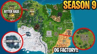 *NEW* SEASON 9 MAP CHANGES LEAK! (Fortnite Season 9 First Look)