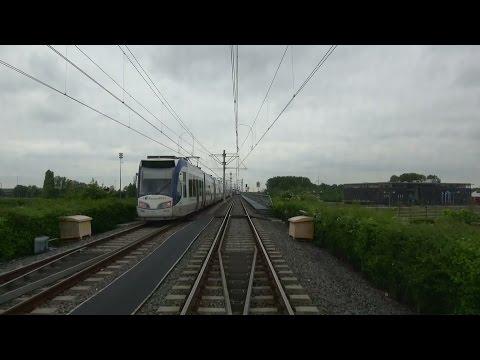 HTM RandstadRail 4 De Uithof - Javalaan - Beatrixkwartier | Alstom RegioCitadis 4050 | 2017