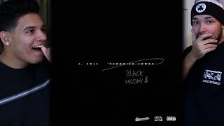kendrick lamar and j cole black friday remixes reaction