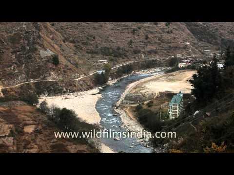 The crystalline stream of the Pabbar river, Himachal Pradesh