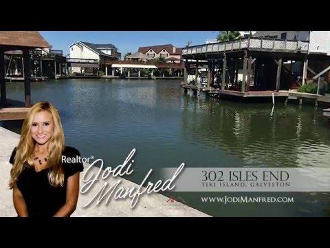 Prime Corner Waterfront Lot for Sale in Tiki Island Galveston