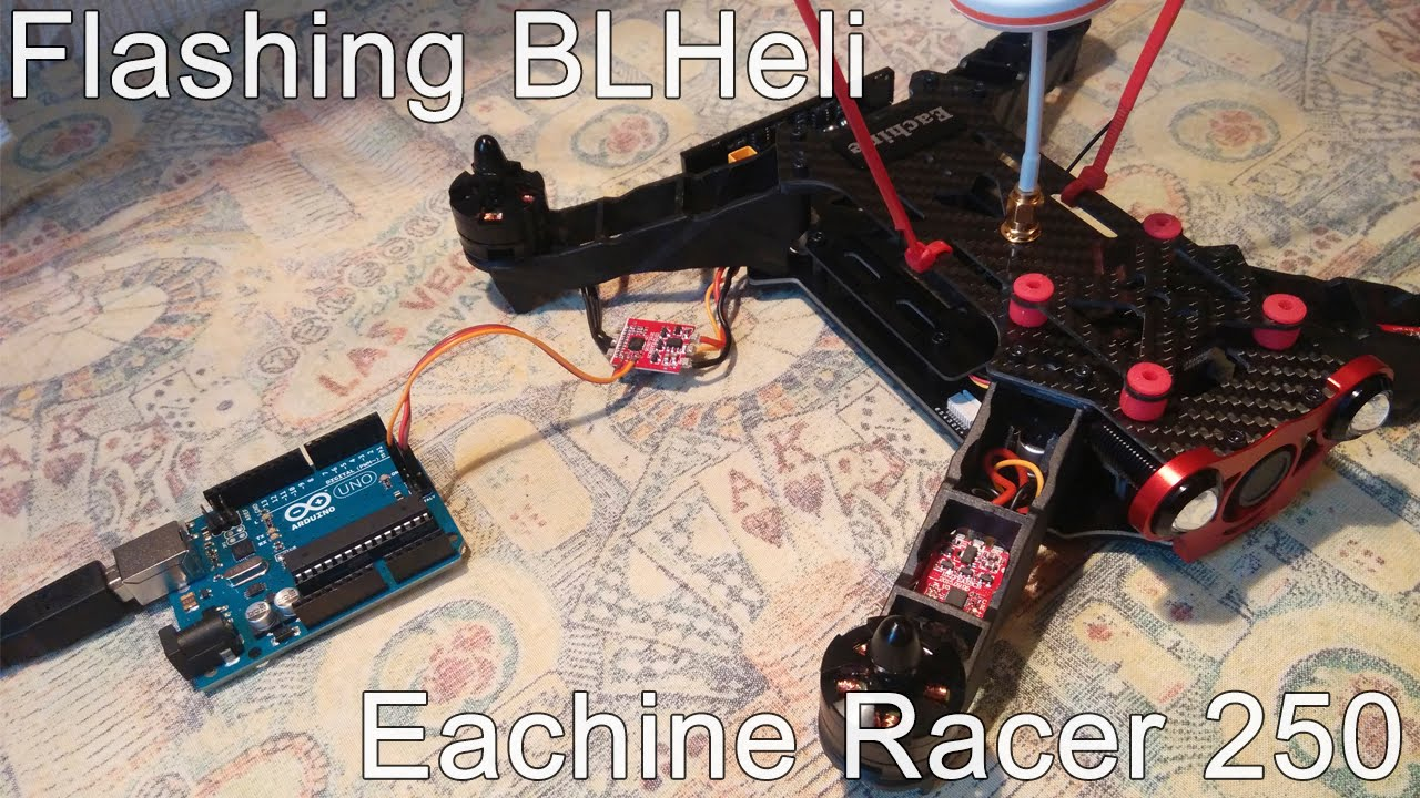 maxresdefault eachine racer 250 flashing esc with blheli youtube eachine 250 wiring diagram at soozxer.org