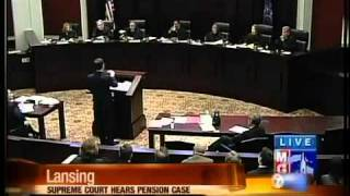 Supreme Court hears pension case 2017 Video