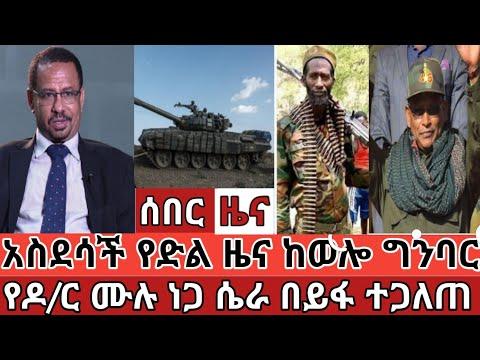 Ethiopia ሰበር | አስደሳች የድል ዜና ከወሎ ግንባር || የዶ/ር ሙሉ ነጋ ሴራ በይፋ ተጋለጠ || ኦነግ ሸኔ ወደ ሰለም እየተመለሰ ነው