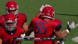 Dayton Football: Duquesne Postgame
