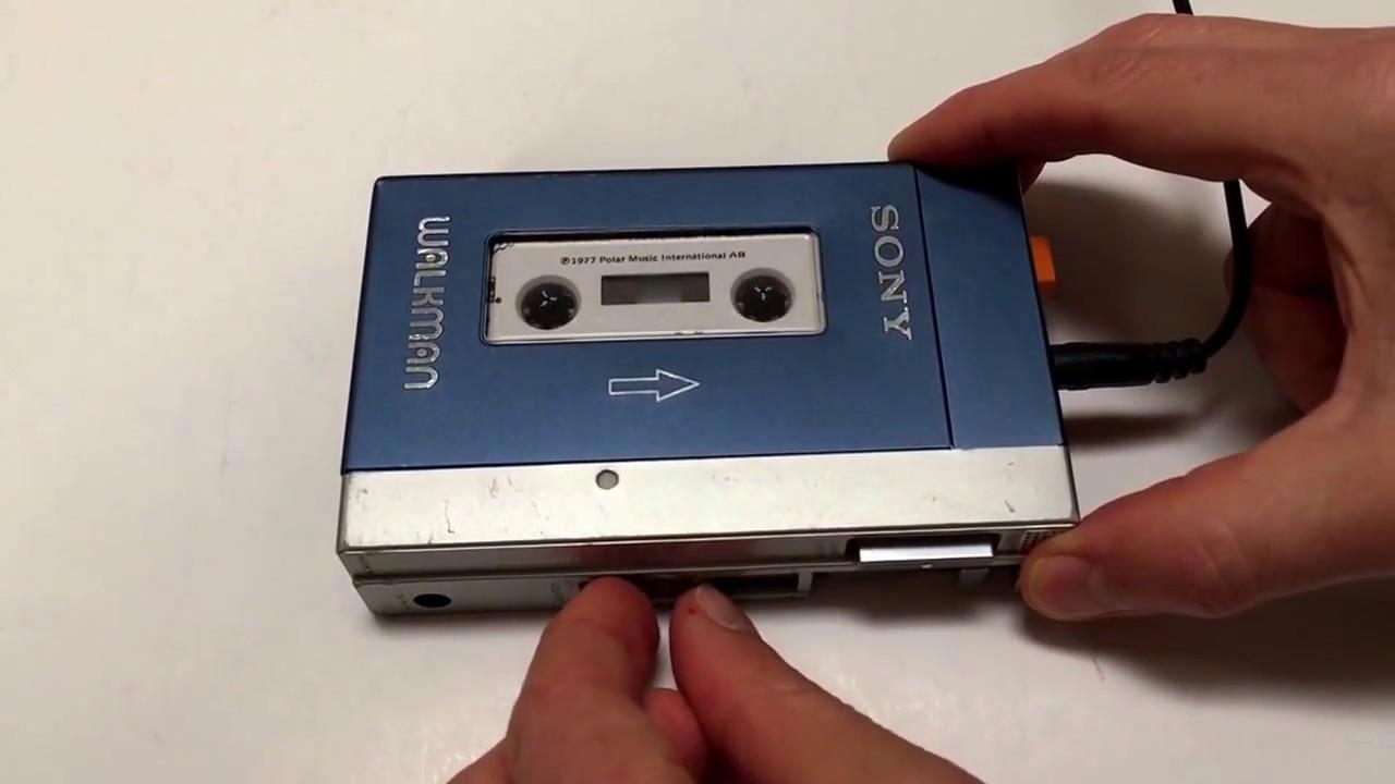 Vintage Sony WALKMAN Cassette Player TPS-L2 - YouTube