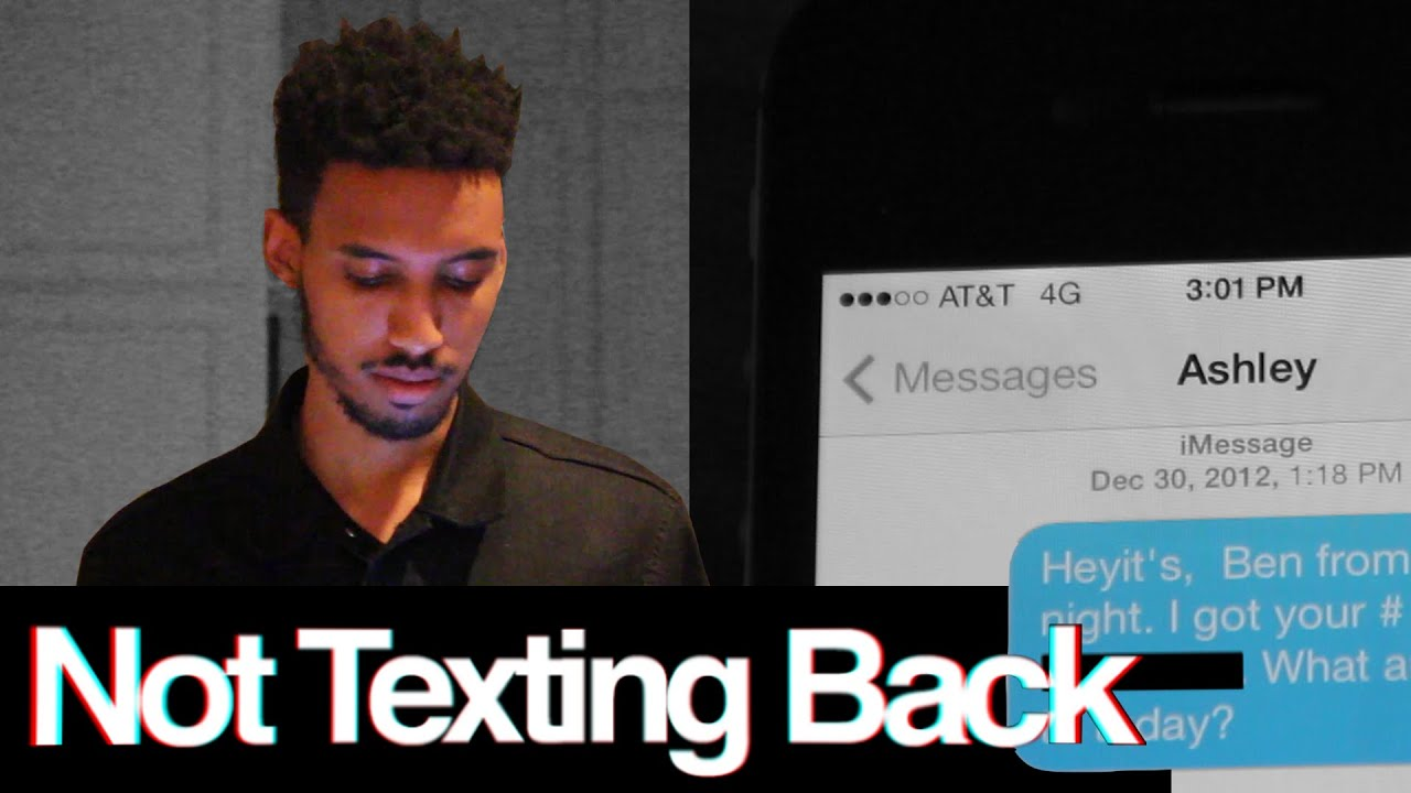 Shes not texting back