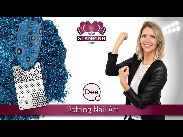 Round 4 :YOURS Online Stamping Battle 'Dotting Nail Art'