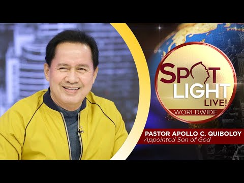 SPOTLIGHT by Pastor Apollo C. Quiboloy • November 7, 2019