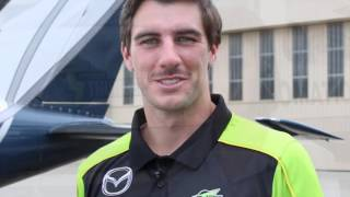Sydney Thunder's Pat Cummins flies with Little Wings