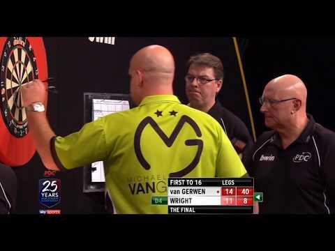 GRAND SLAM FINAL 2017   Michael van Gerwen vs Peter Wright